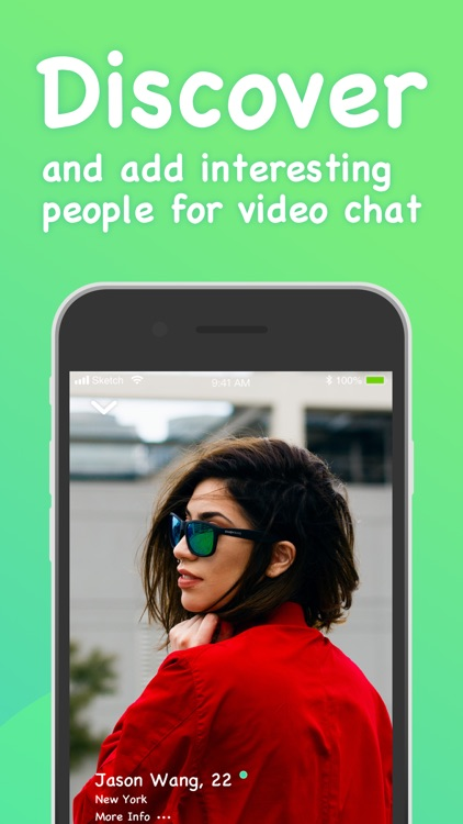 Gaze-- live video dating screenshot-3