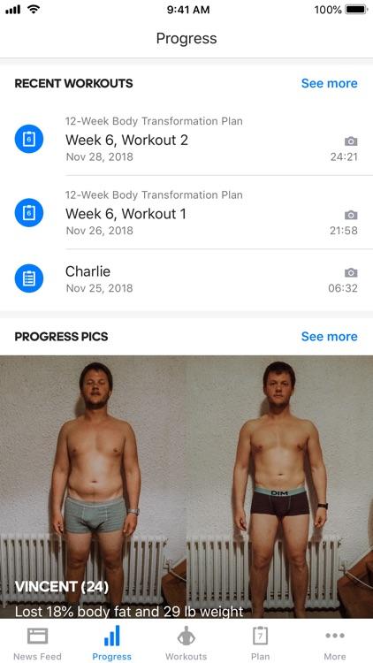 Runtastic Results Bodyweight screenshot-8