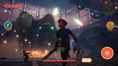 Screenshot from Oceanhorn 2