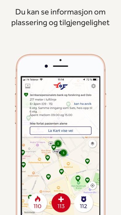 Screenshot for Hjelp 113 in Denmark App Store
