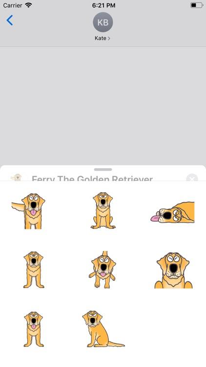 Ferry The Golden Retriever