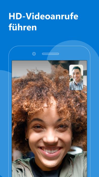 Skype für iPhoneScreenshot von 1