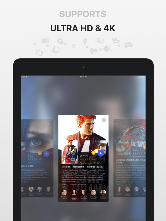 Media Player - PlayerXtreme HD - The best player of movies, videos & music. screenshot