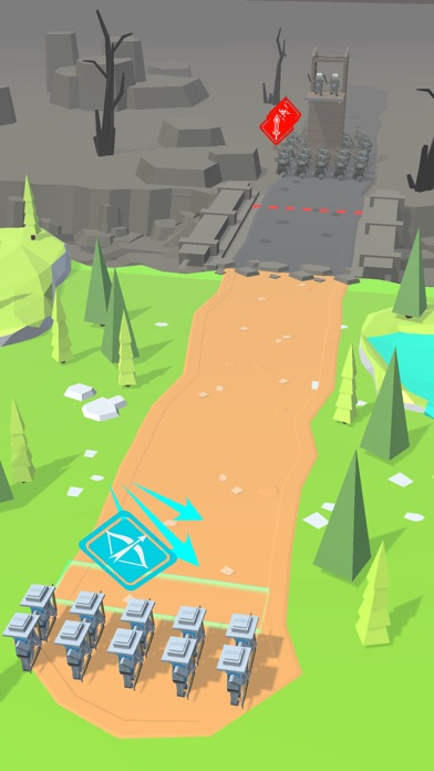 Archery Battle 3D screenshot 2