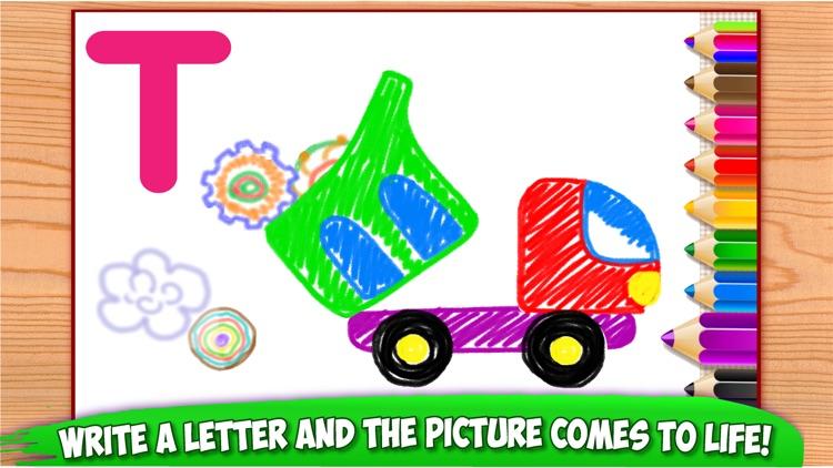 ABC Tracing Kids Drawing Games screenshot-4