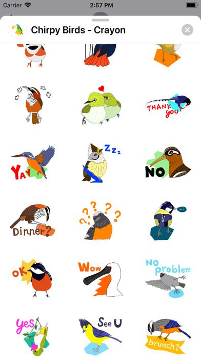 Chirpy Birds - Crayon screenshot 3