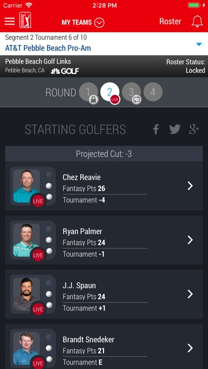 PGA TOUR Fantasy Golf