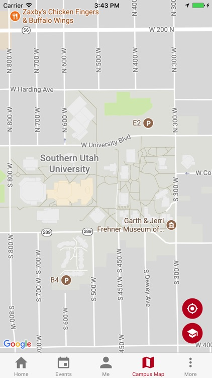 southern utah university campus map Suu By Southern Utah University