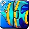 海洋动物世界识字拼图-学习识字早教大全