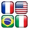世界の国旗-クイズ