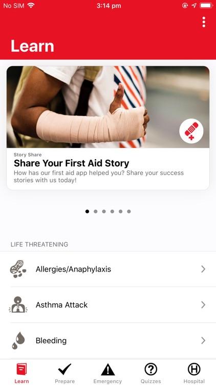 First Aid: American Red Cross screenshot-0