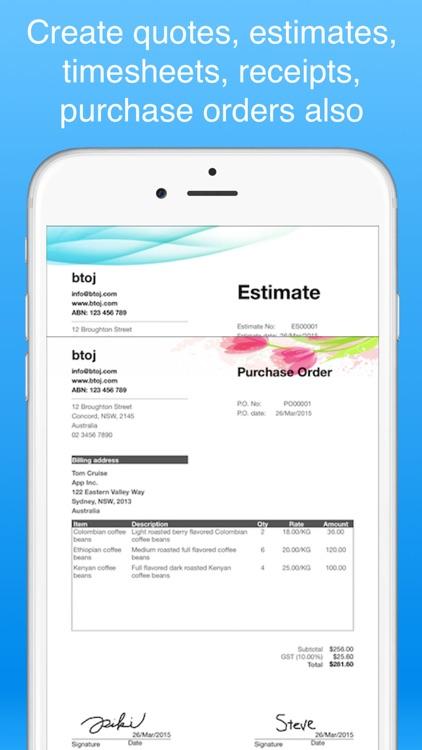 Invoice Maker Pro - Invoicing screenshot-5