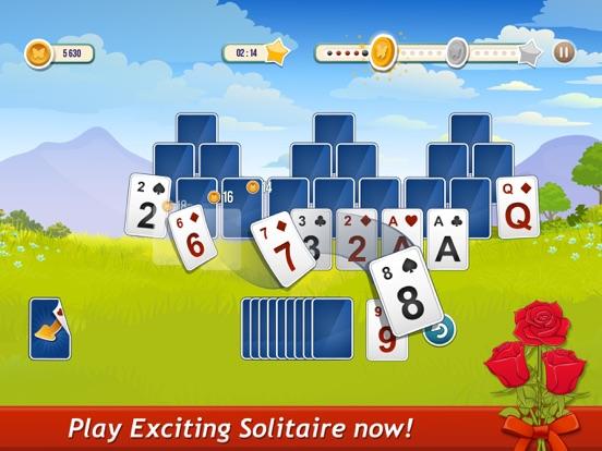 Solitaire TriPeaks Rose Garden screenshot