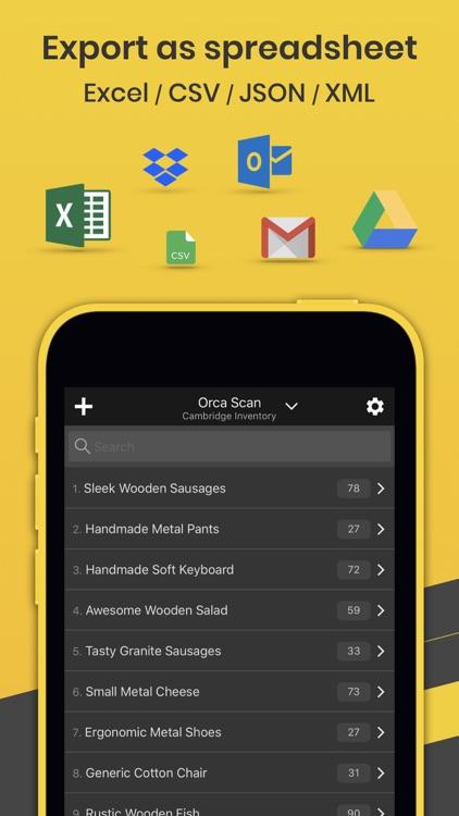 Orca Scan - Barcode App screenshot-5