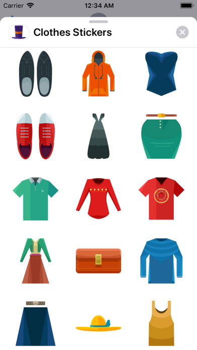 Clothes Stickers App Download - Stickers - Android Apk App Store