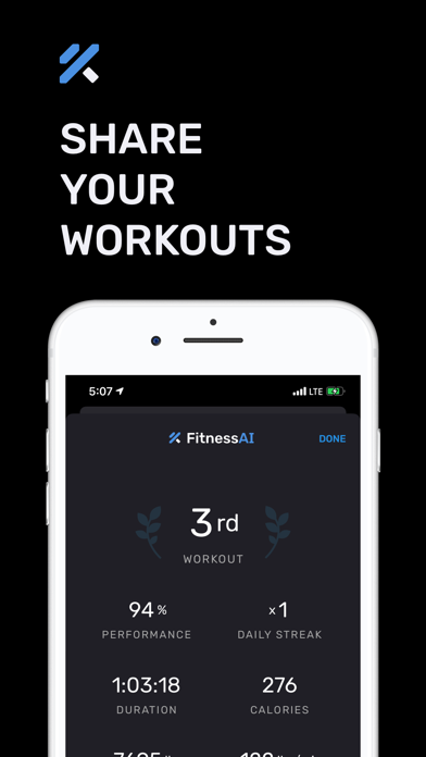 Weight Lifting by FitnessAI Screenshot