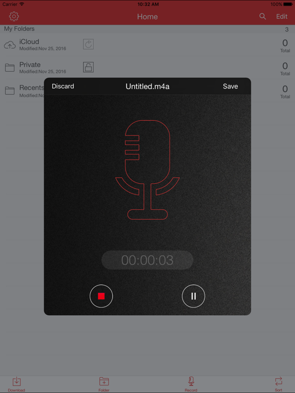 Recorder Pro: Audio Manager Screenshots