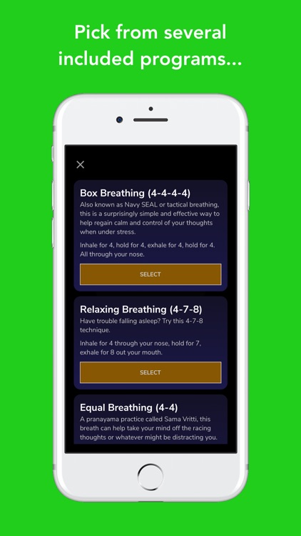Awesome Breathing: Pacer Timer