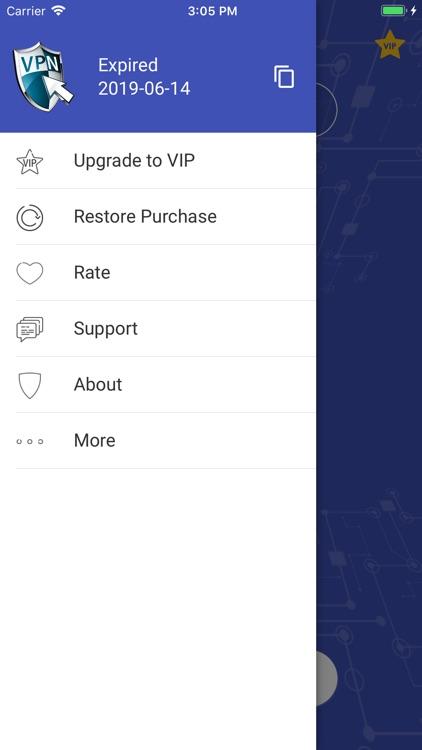 Vpn One Click Professional screenshot-3