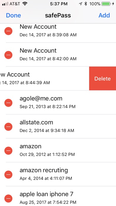 safePassLt Screenshots