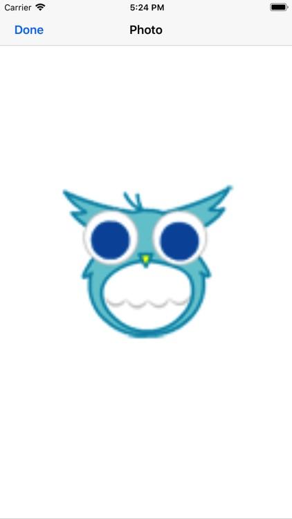 Funny owl face screenshot-4