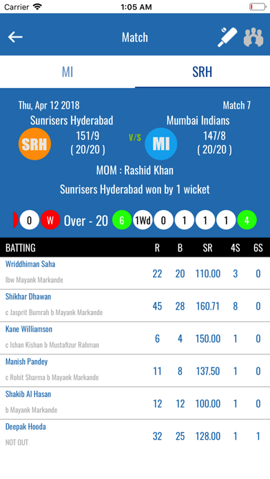点击获取Live Cricket 2018