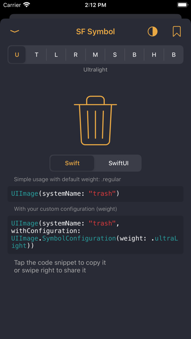 Swippets review screenshots