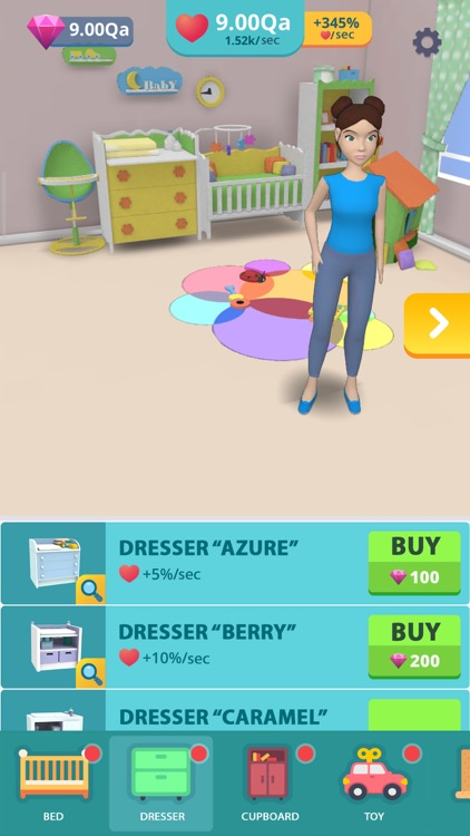Baby & Mom Idle 3D Simulator screenshot-3