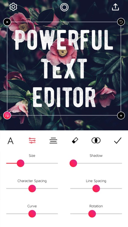 Font Candy Photo & Text Editor screenshot-0