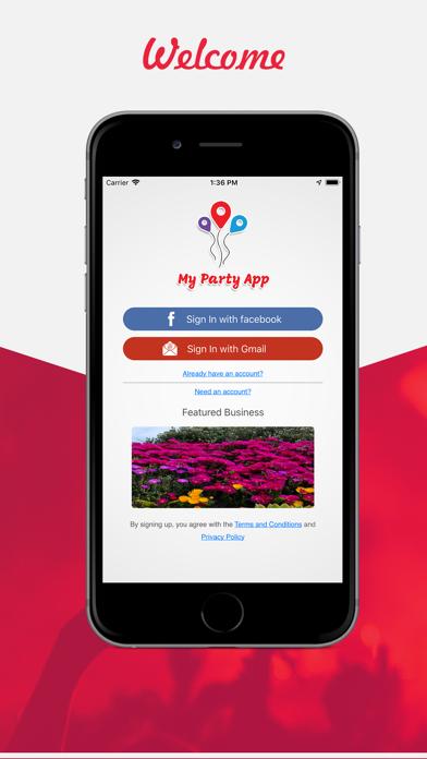 My Party App screenshot