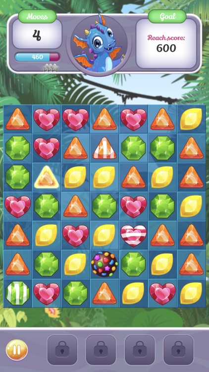 3 Candy: Gems And Dragons