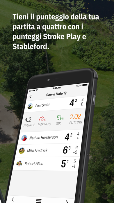 Screenshot for Golfshot Plus: Golf GPS in Italy App Store