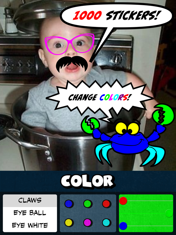 Caption Distraction Lite - Create a comic book strip by adding a cartoon bubble, thought balloon, sticker, filter or meme to your photo screenshot