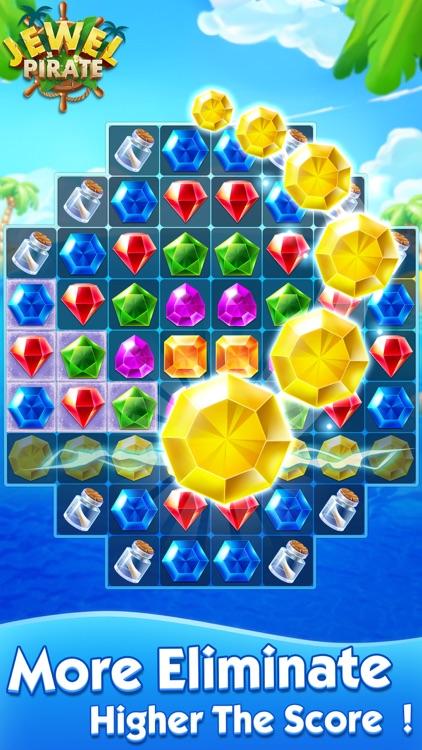Jewel Pirate - Matching Games screenshot-4