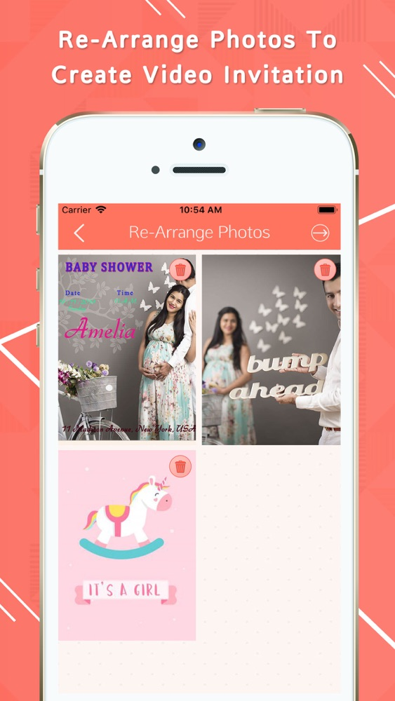 video invitation card maker app for iphone  free download