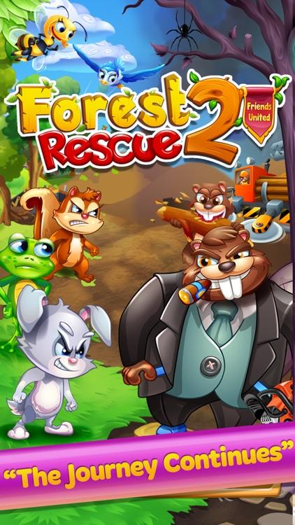 Forest Rescue 2 Friends United screenshot-0