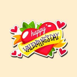 Valentine Day Stickers !