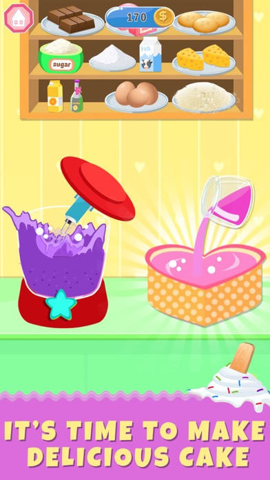 Ice Cream Cake Baker Shop screenshot #3