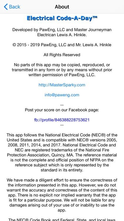 Electrical Code-A-Day screenshot-3