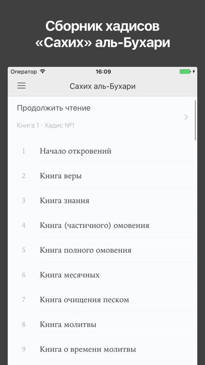 «Сахих» имама аль-Бухари screenshot-0