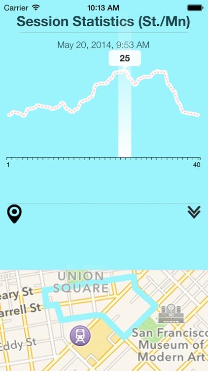GPS Pedometer+ Running Tracker