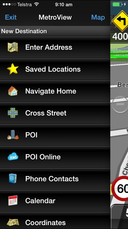MetroView GPS Navigation screenshot-3