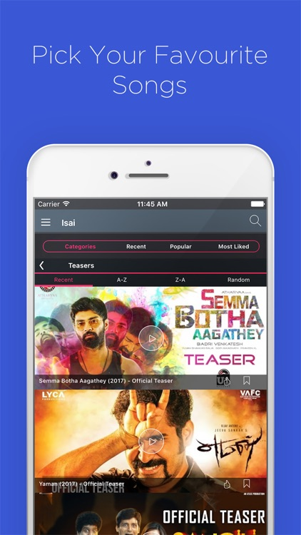 Isai: Tamil video songs 2019