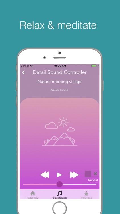 Meditation Sounds:Relax Sounds screenshot-4