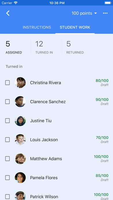 Screenshot for Google Classroom in United States App Store