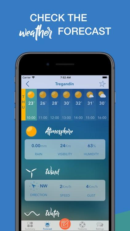 iPlaya. Beach weather forecast screenshot-3