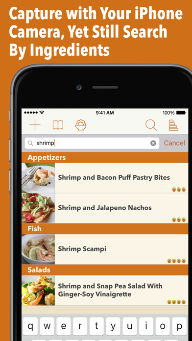 Recipe Gallery Screenshot