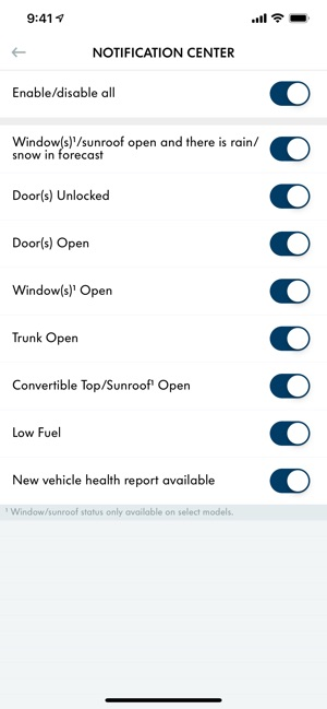 VW Car-Net Security & Service on the App Store
