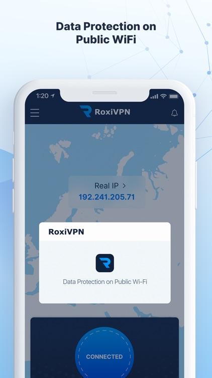 RoxiVPN: Fast & Secure VPN screenshot-4