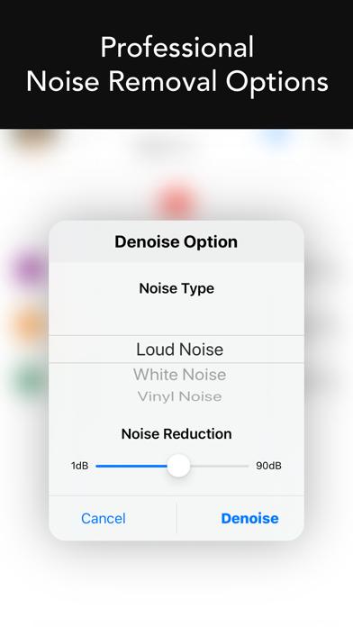 Denoise Audio - ノイズ除去のおすすめ画像3